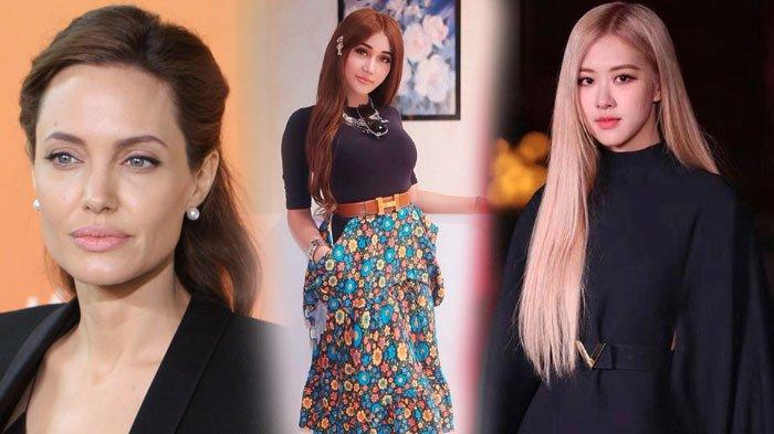 Lucinta Luna Pamer Hasil Make Up Bak Rose BLACKPINK dan Angelina Jolie di Instagram