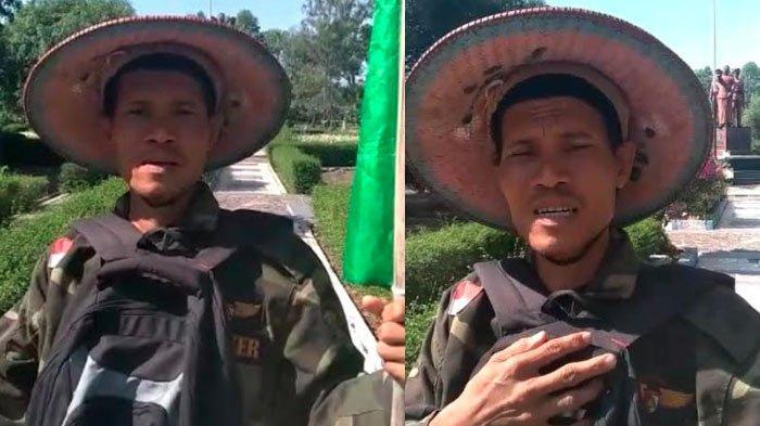 Jalan Kaki Ngawi-Surabaya, Anggota Banser Ingin Sampaikan Pesan Ibunya ke Gubernur Jatim Khofifah
