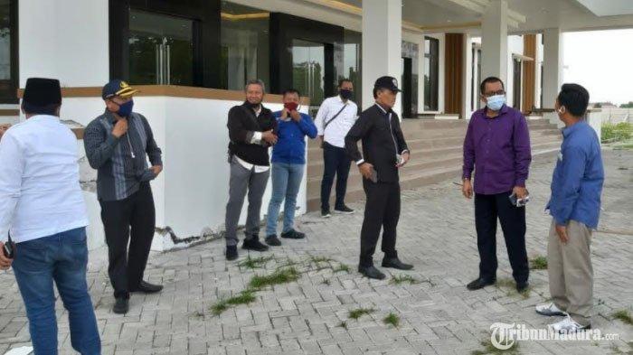 Proyek Pembangunan Gedung Baru DPRD Bangkalan Disorot, Wakil Ketua Komisi C Akui Tak Puas