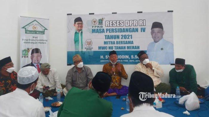 Anggota DPR RI Syafiuddin Asmoro Hibahkan Sebanyak 273 Kambing ke PengurusNU Bangkalan Madura