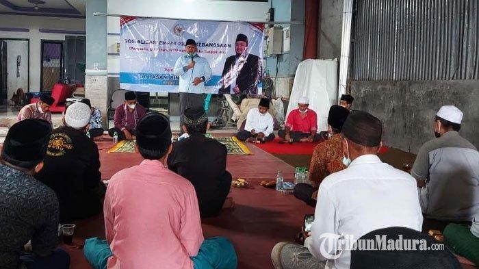 Anggota MPR RI Perkuat Pemahaman Tentang Nilai-nilai Pancasila Bagi Guru dan Wali Siswa di Bangkalan