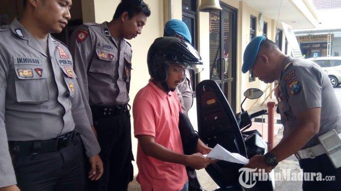 Polres Pamekasan Larang Driver Ojek Online Masuk ke Wilayah Mapolres Pasca Bom Bunuh Diri di Medan