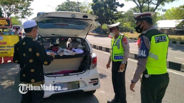 Total Kendaraan Melintasi JembatanSuramadu Mencapai 396.739 Unit Pada Larangan Mudik Idul Fitri 2021