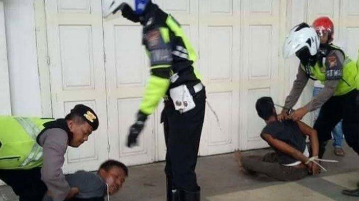 Dikejar Warga, Kawanan Pencuri Hewan Ditangkap Polisi Lantas, Penangkapannya Berlangsung Dramatis