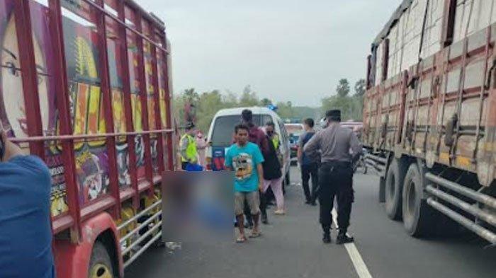 Kecelakaan Lalu Lintas di Tuban, Pengendara Motor Terseret Truk Sejauh 20 Meter, ini Kondisinya
