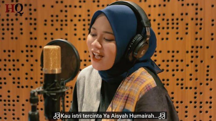 Download Lagu MP3 Aisyah Istri Rasulullah Cover Anisa Rahman, Lengkap Lirik, Trending di Youtube
