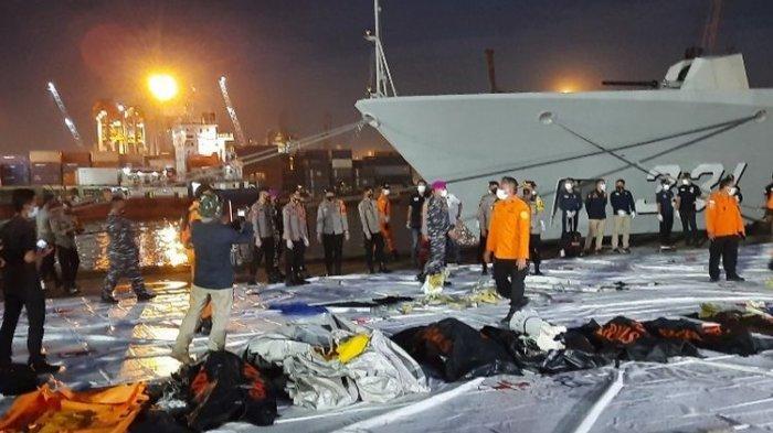 UPDATE Terkini Pencarian Sriwijaya Air SJ 182 Senin Sore, 19 Kantong Potongan Tubuh Telah Dievakuasi