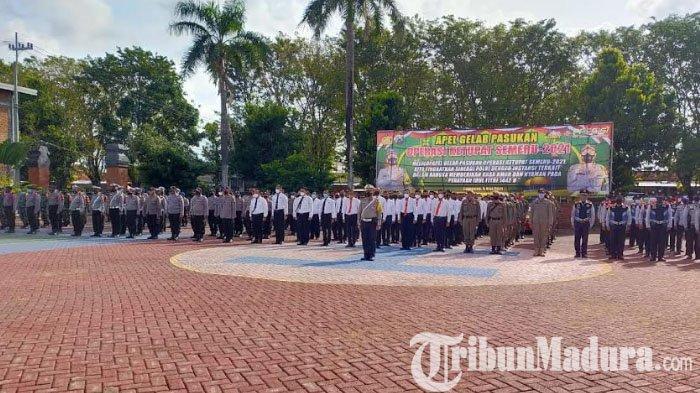 168 Personel Gabungan Pengamanan Ops Ketupat Semeru 2021 Diterjunkan, Begini Kata Kapolres Sumenep