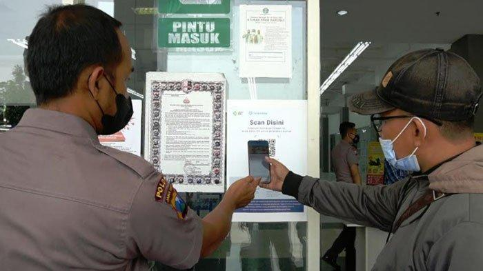 Kebijakan Baru Layanan di Polres Bangkalan, Pengunjung Harus Siapkan Aplikasi PeduliLindungi