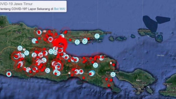 Cara Cek Sebaran Virus Corona Secara Real Time via Radar Covid-19 Jawa Timur, Buka Link di Sini!
