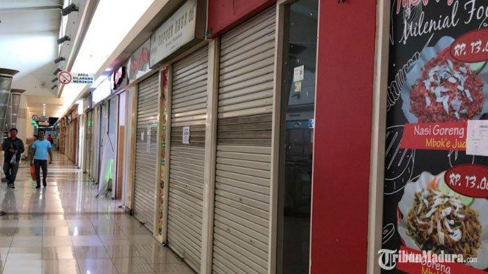 PSBB Surabaya Diperpanjang Dua Pekan, Hampir 50 Persen Gerai di Foood CourtMall Royal Plaza Tutup