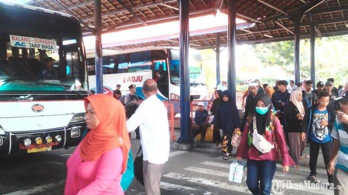 Harga Tiket Bus Malam diTerminal Purabaya Naik 2 Kali Lipat, PenumpangTetap Beli Meski Mahal