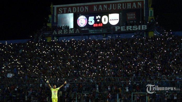 Panpel Lakukan Pemeriksaan Penonton LagaArema FC Vs Persebaya, Lebih Ketat Dibanding Lawan Persib