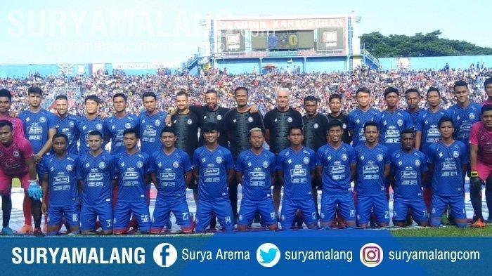 Pesan Tim Pelatih Arema FC untuk Para Pemain yang Diliburkan di Tengah Wabah Corona