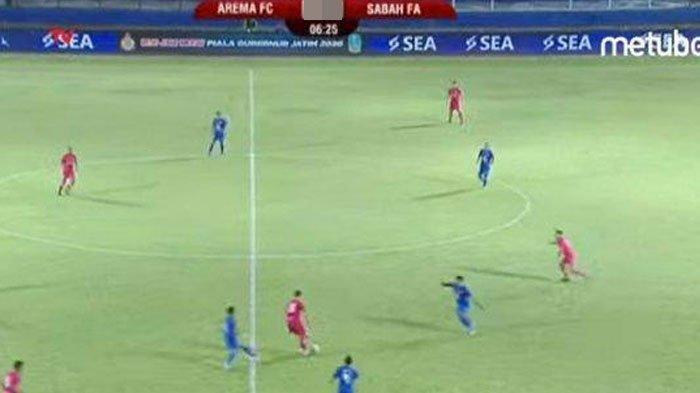 Arema FC Vs Sabah FA, Arema Menang 2-0, Persaingan Klasemen Ketat Antara Persija dengan Arema FC