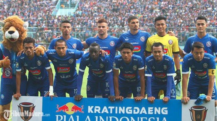 Arema FC Fokus Tatap Piala Presiden usai Terhenti di Babak 16 Besar Piala Indonesia