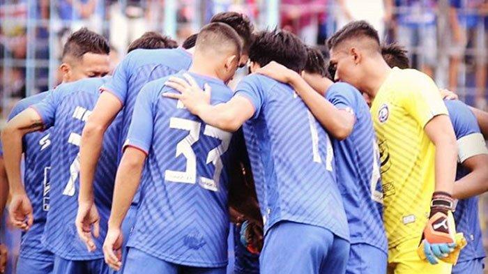 Siapkan Mesin Jelang Liga 1 2020,Tim Arema FC Kembali Berkumpul pada Agustus Mendatang