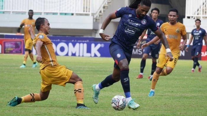 Klasemen Sementara Liga 1 2021: Arema FC dan Persebaya Surabaya Sama-Sama di Zona Tak Aman