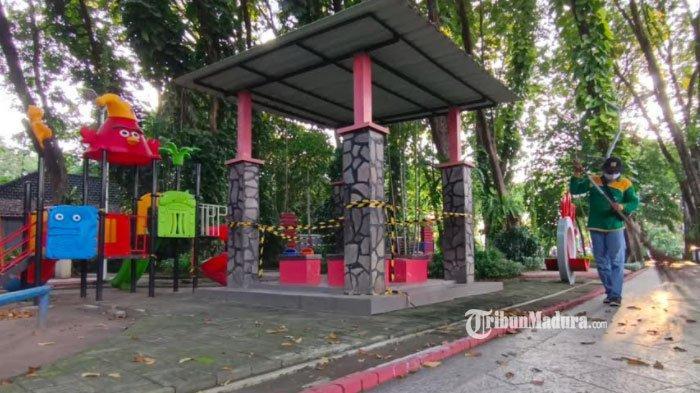 8 Taman Kota di Surabaya Dibuka Akhir Pekan ini, Pedagang UMKM Diizinkan Berjualan di Lokasi