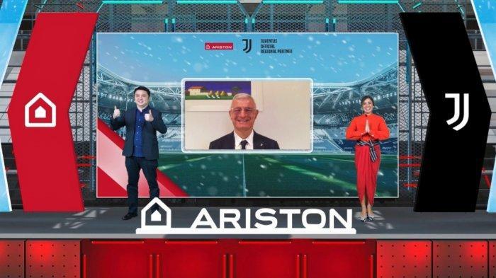 Jadi Official Regional Partner Juventus, Ariston Indonesia Optimistis Kuasai Pasar Pemanas Air di RI