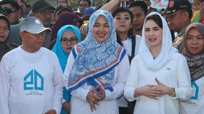 Arumi Bachsin Ajak Masyarakat Sumenep Madura Galakkan Sarapan Padat Bernutrisi Cegah Stunting Anak