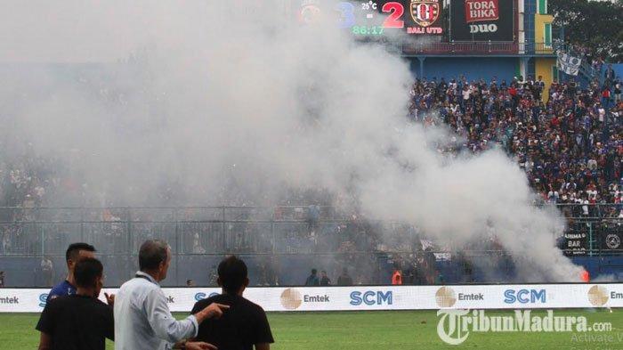 Arema FC Cetak Rekor Fantastis Jumlah Denda Terbanyak Liga 1 2019, Kalahkan Catatannya Sejak 3 Musim