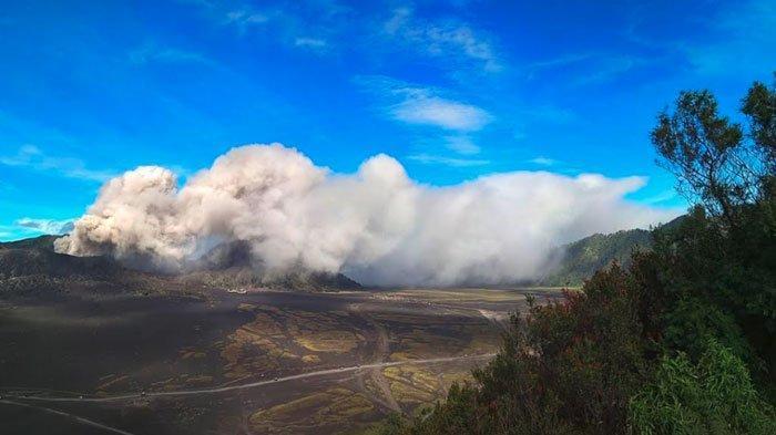 Gunung Bromo Letuskan Abu Vulkanik, Aktivitas Warga dan Wisatawan Berjalan Normal