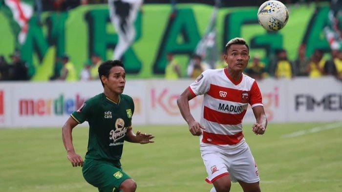 Asep Berlian TargetkanMadura UnitedRaih Kemenangan Liga 1 2019 Lebih Baik Dibanding Musim Lalu