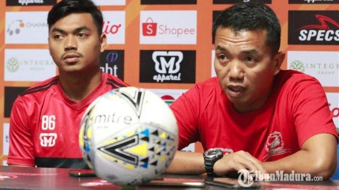 Hadapi Semen Padang, 7 Pemain Madura United Dipastikan Absen, Pelatih Akui Tak Ambil Pusing