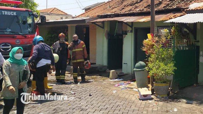 18 Unit Kendaraan Pemadam Kebakaran Diterjunkan, Jinakkan Api yang Membakar 7 Bangunandi Surabaya