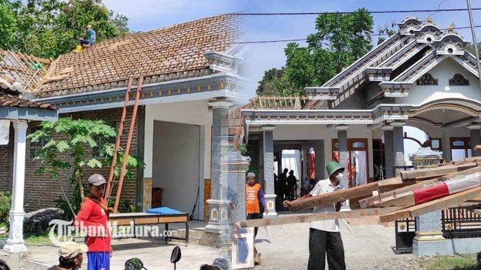 Pulang dari Hongkong, TKW di Ponorogo Bongkar Atap Rumahnya Usai Cerai dari Suami, Simak Kronologi