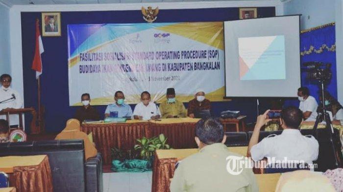 Badan Pengembangan Wilayah Suramadu Dorong Bangkalan Jadi Kabupaten Sentra Bandeng dan Udang Jatim