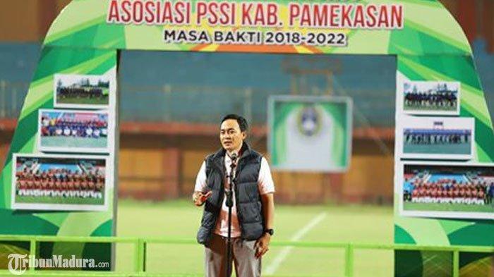 Baddrut Tamam Dukung Kepengurusan Askab PSSI Pamekasan, Berharap Lahir Atlet Baru yang Berprestasi