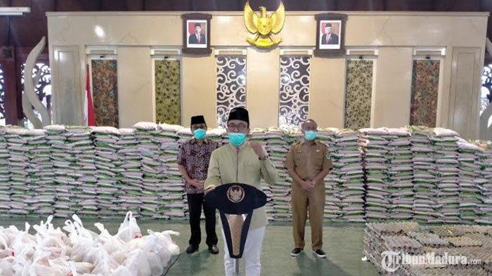 Besok, PKL Terdampak Covid-19 di Pamekasan Dapat Bantuan Paket Sembako dan Uang Tunai dari Pemkab