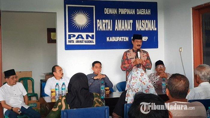 Jelang Pilkada Sumenep 2020, Bacabup Fattah Jasin Silaturahmi dengan Pengurus DPD PAN