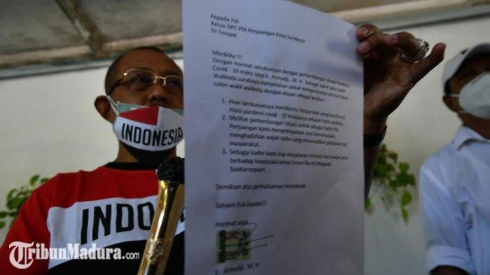 Anggota DPRD Jatim, Armuji Mundur dari Pencalonan Wakil Wali Kota Surabaya, Sebut ada Halangan