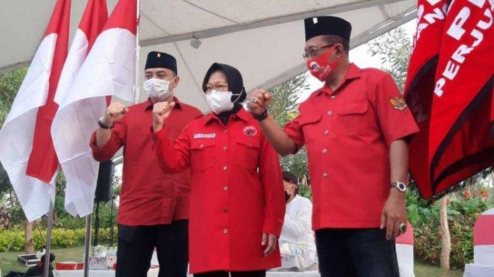 BREAKING NEWS - Daftar ke KPU Surabaya Hari Ini, Eri Cahyadi-Armuji Ditemani Risma dan Whisnu Sakti