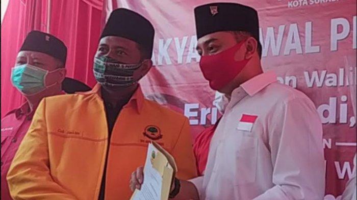 Enam Partai Non Parlemen Bergabung Dukung Eri Cahyadi - Armuji di Pilkada Surabaya 2020