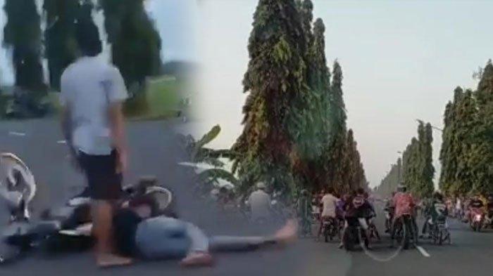 Dua Pemuda Terkapar Saat Ngabuburit Sambil Balapan Liar di Tuban, Motor-Motor Lalu Berhamburan