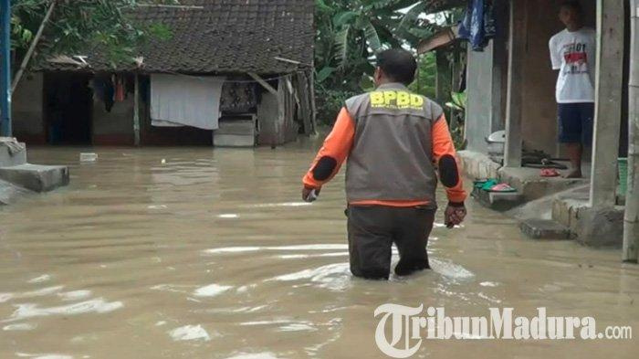 Meluas, Sudah Dua Hari 9 Desa di 3 Kecamatan di Lamongan Terendam Luapan Air Bengawan Solo