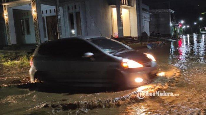 Banjir di wilayah Kabupaten Ponorogo, Rabu (3/2/2021).
