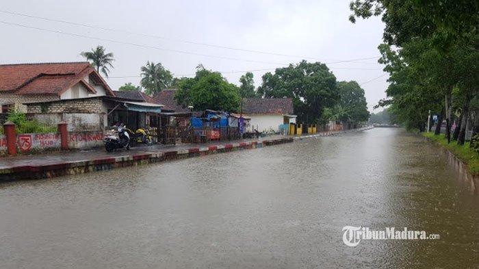 Sumenep Dilanda Banjir Tiap Tahun, Dinas PRKPCK Ungkap Sebabnya, Mulai Drainase hingga Lahan Datar