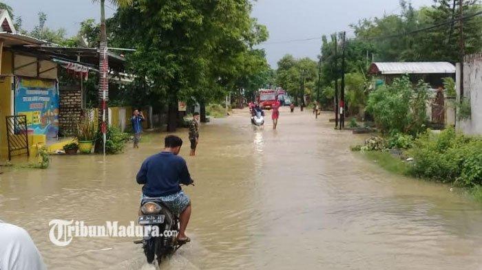 BPBD Sarankan Rekonstruksi Jembatan Besi Jadi Jembatan Gantung untuk Minimalisir Banjir di Pamekasan