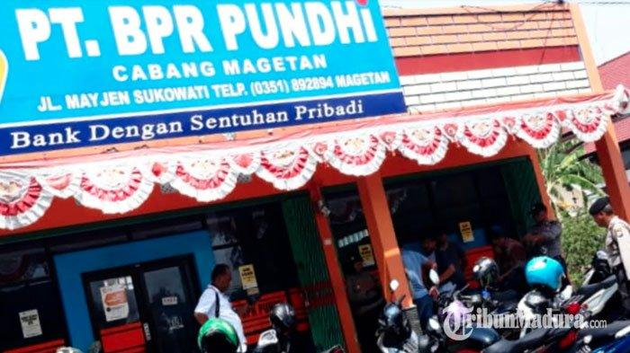 Maling Beraksi Bobol Sebuah Bank, Masuk Lewat Genteng, Gondol Puluhan Juta Rupiah dan Set CCTV