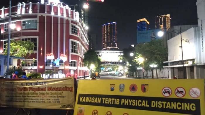 Sebanyak 12 Ruas Jalan di Kota Surabaya Bakal Disemprot Disinfektan Hari Ini, Berikut Daftarnya