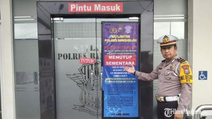 Pelayanan SIM diPolres Bangkalan Ditutup Sementara, Ada Dispensasi Bagi Pemohon dengan Kategori Ini