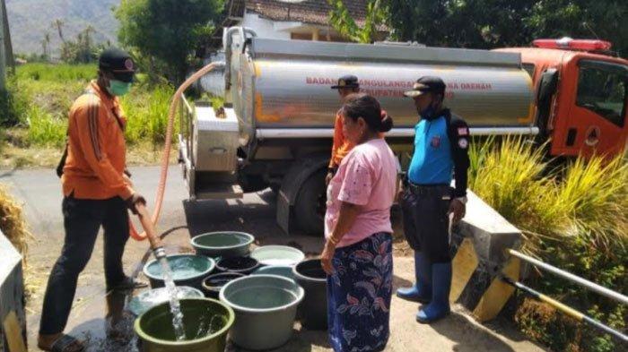 Sudah Masuk Musim Hujan, 5 Desa diPonorogo ini Masih Butuh Bantuan Air Bersih Karena Alami Krisis
