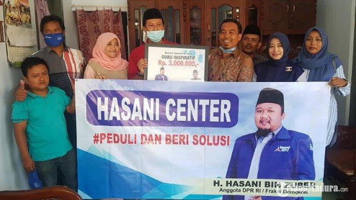 Hasani Center Beri Bantuan Kesejahteraan GuruAvan Fathurrahman, Singgung Ketimpangan Pendidikan