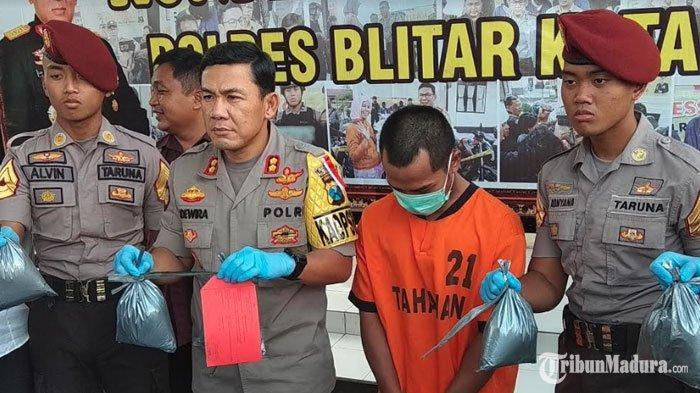 Penjual Bubuk Mercon di Blitar Ditangkap, Pelaku Bantah Kepunyaannya Meski Tahu Detail Harga Petasan