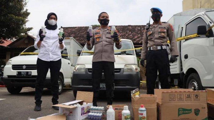 Polres Kediri Kota Ungkap Pupuk Cair Oplosan, 11 Orang Diamankan, Omzet Bulanannya hingga 40 Juta